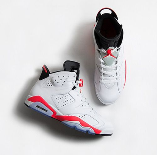 After a brief appearance in 2010 with the pack release, the Air Jordan 6  Retro 'White/Infrared' returns to celebrate anniversary of the legendary  mode