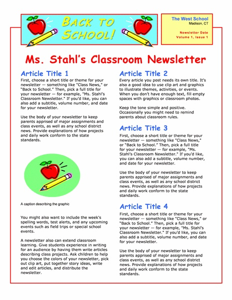 The 25+ best School newsletters ideas on Pinterest | Monthly ...