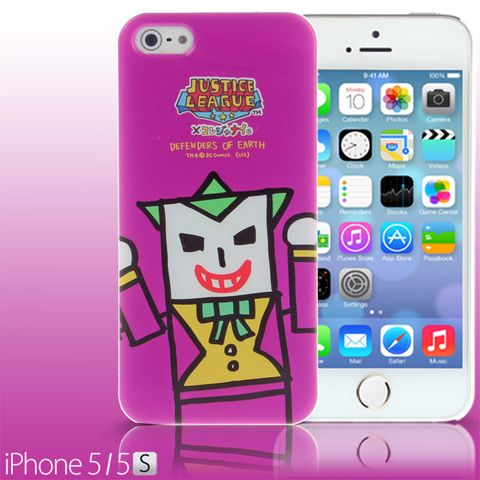 iPhone 5 / 5s Comic Case: Justice League X Korejanai DC Comics Heroes - Joker (Limited Edition)