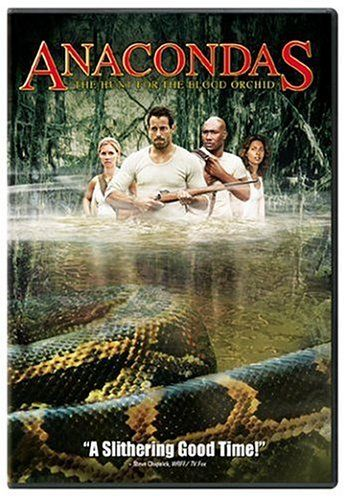 Anacondas - The Hunt for the Blood Orchid - 2004 with Salli Richardson Whitfield; Morris Chestnut