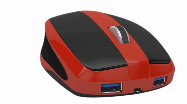 Mouse-Box: Mouse That Has a Computer Rolled Into It | This mouse doubles as a full-fledged PC. It can either be used as a standard mouse or a fully working PC or both