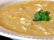 Thai-style Cream of Corn & Crab Soup