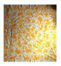 Otomi Queen bedspread/wall hanging- Yellow by The Toucan Shop