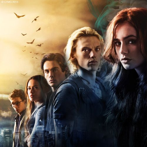 The Mortal Instruments. I like this picture. :)