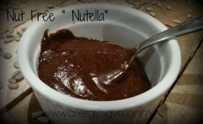 Nut Free ' nutella'