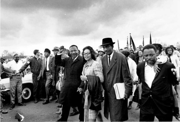rosa parks and martin luther king jr relationship advice