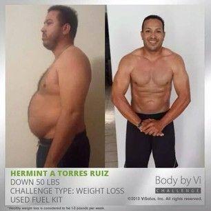7 foot man weight lose