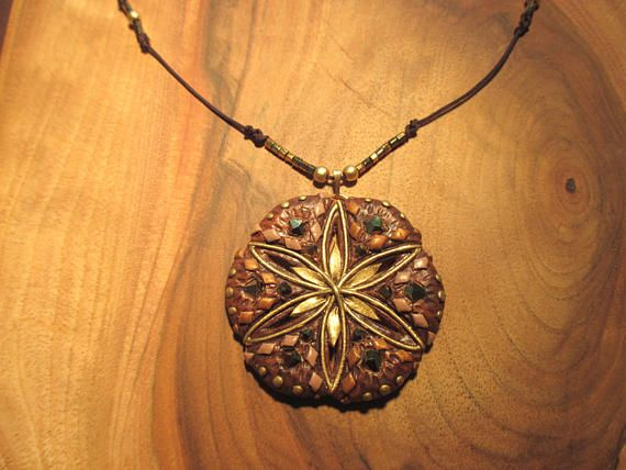 32 best mystical jewelry nature inspired images on pinterest necklace flower of life sacred geometry healing pagan witch natural aloadofball Image collections