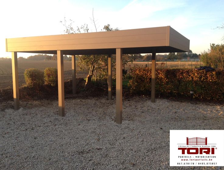 Carport Aluminium  www.toriportails.be
