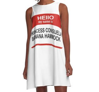 u0027hello my name is princess consuela banana hammock u0027 t shirt by travismox 18 best hello my name is princess consuela banana hammock images      rh   pinterest