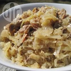 Polnisches Sauerkraut aus dem Ofen (Kapusta) @ de.allrecipes.com