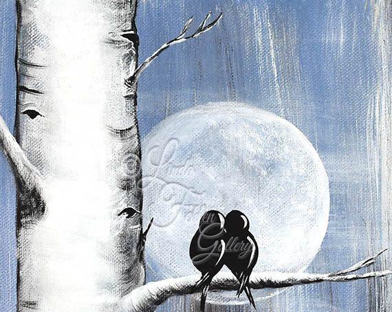 11 x 14 originale personalizzato tela pittura Aspen albero dipinto amore uccello pittura betulla albero arte personalizzata regali di nozze per coppia San Valentino regalo romantico Denim tema Denim regalo di nozze  Questa tela semplice, rustico di due uccelli che riposa in un pioppo tremulo / albero di betulla insieme si aggiunge il carattere rustico a qualsiasi stanza e vorrei fare un dolce regalo, regalo di anniversario, regalo di fidanzamento o regalo di San Valentino. Il colore denim…