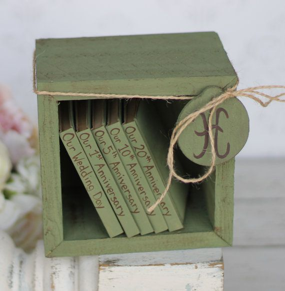 Rustic Wedding Guest Book Shabby Chic Decor (Item Number 140247) on Etsy, $96.86