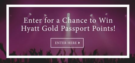 More Hyatt Gold Passport points means more spa days and more date nights! Enter here for a chance to win 3,000 points.