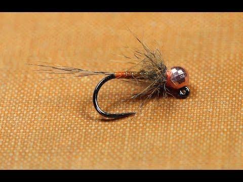 Olive jig nymph fly pattern - Steffan Jones - YouTube