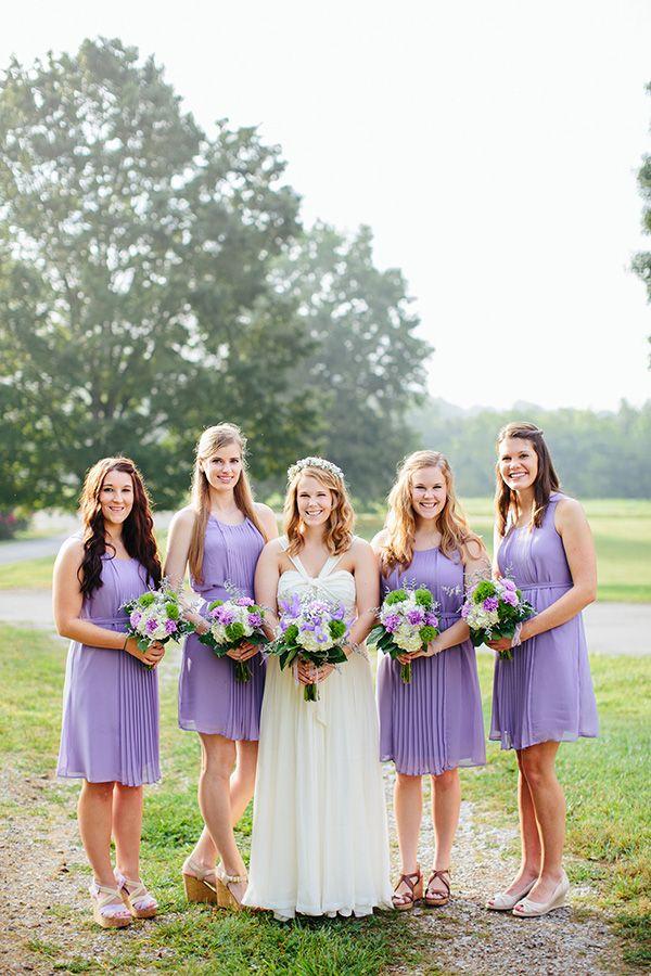 133 best purple wedding details images on pinterest for Purple summer dresses for weddings