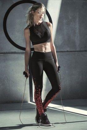 Calça Legging Fusô Tune - Vestem FS369 Dani Banani Fashion Fitness