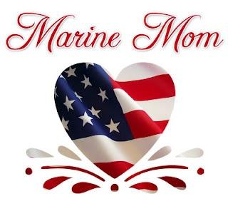 Very proud Marine Mom