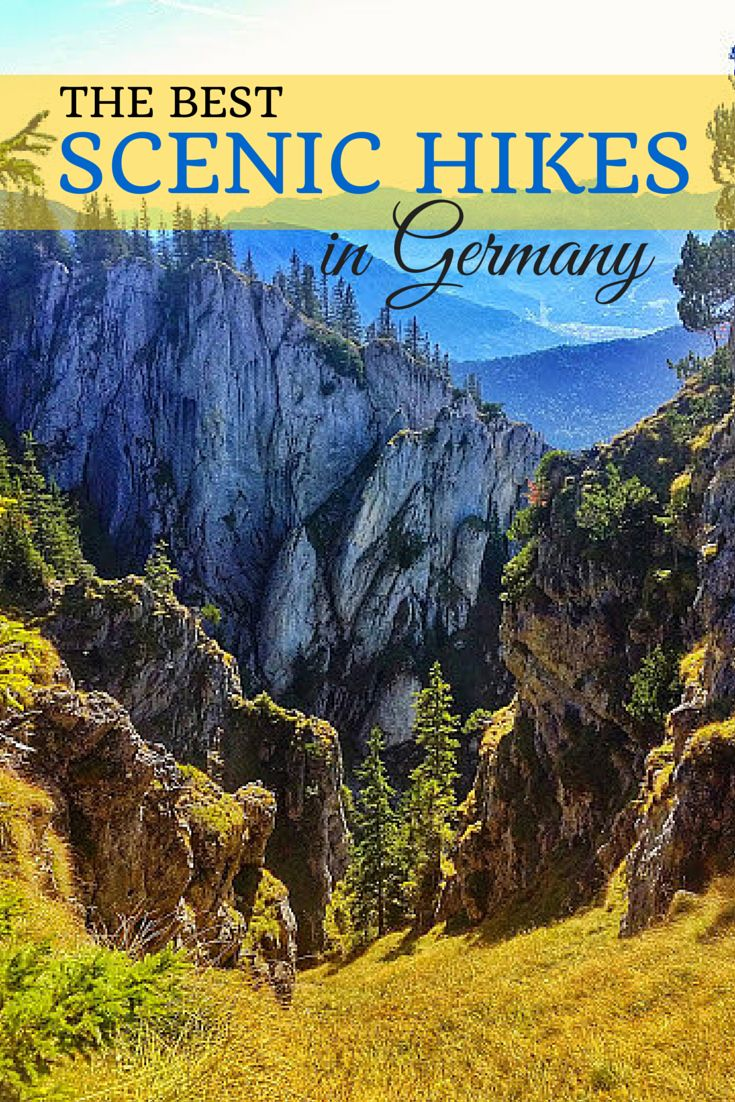 The best scenic hikes in Germany are in the Bavarian Alps. Check out these suggestions to help plan your next hike and have a great outdoor adventure!