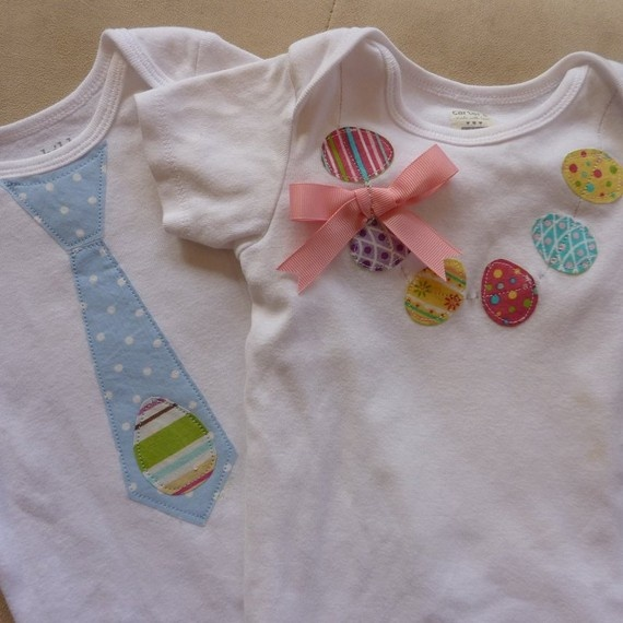okay these are the easter shirts for Addison and her baby brother if he arrives by then ;)