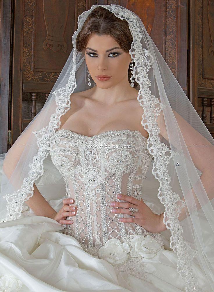 gorgeous wedding gowns 2013 &14 | Arabic Wedding Dresses-0078 [ARD-0078] - $312.00 :