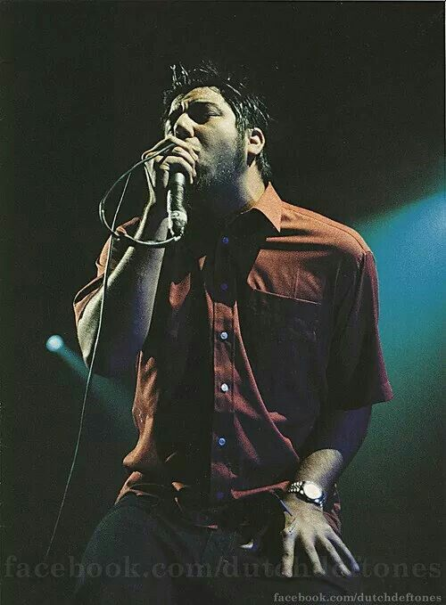 Chino Moreno.... My favorite asshole! Such a dick sometimes but I am okay with it :)