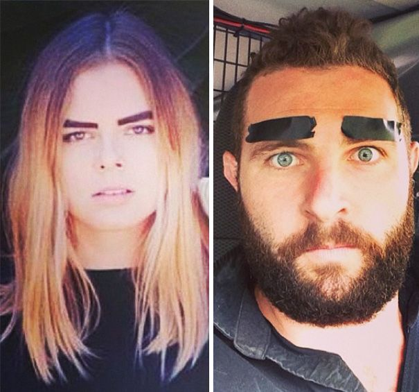 This guy recreates some funny tinder selfies!