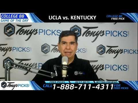 UCLA Bruins vs. Kentucky Wildcats Free NCAA Basketball Picks and Predict...