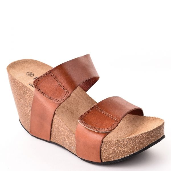 Chaussures à bout rond Plakton marron femme diy9s4NexF