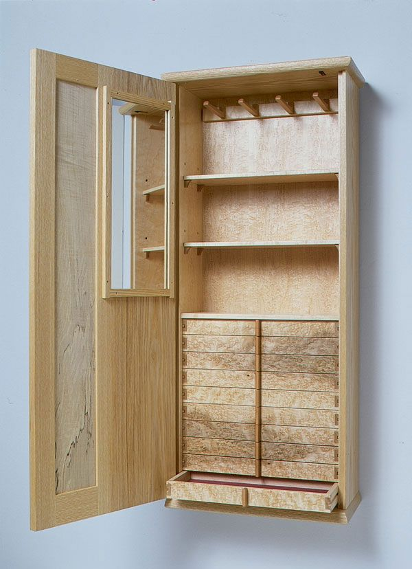 Best 25 diy jewelry armoire plans ideas on pinterest craft armoire sewing cabinet and craft Wardrobe cabinet design woodworking plans