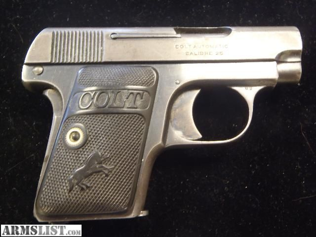 25 handgun with pearl handle cost to buy caliber 25 pistol