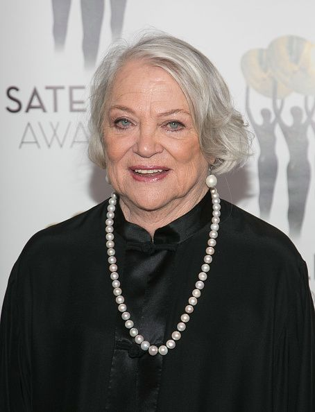 Louise Fletcher arrives for the 20th Satellite Awards at InterContinental Hotel on February 21 2016 in Century City California