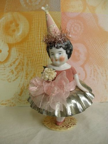 assemblage art dolls with china head - Google Search