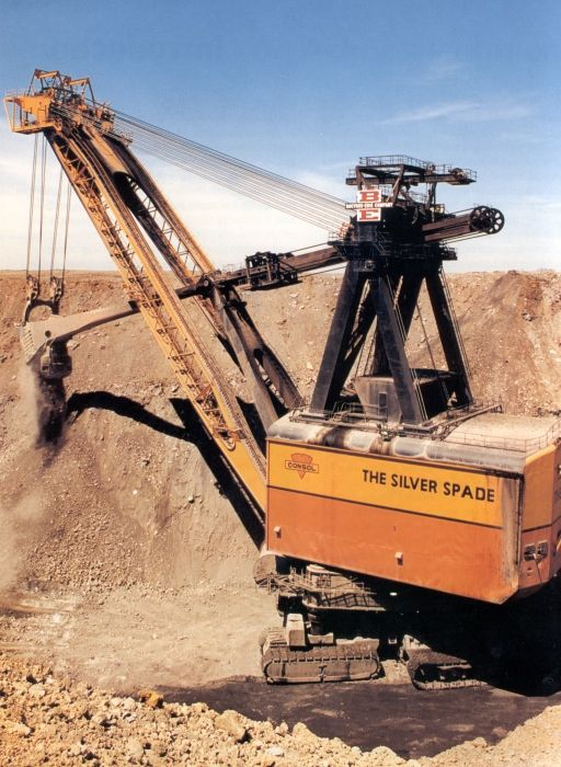 silver spade | ... Silver Spade has been one of the largest earth-moving machines in the