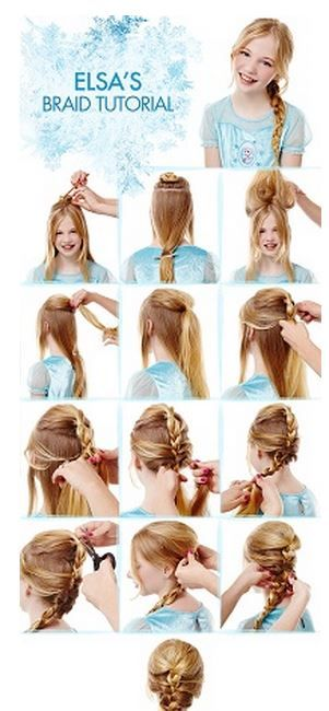 Disney Frozen | Anna and Elsa Braid Tutorials