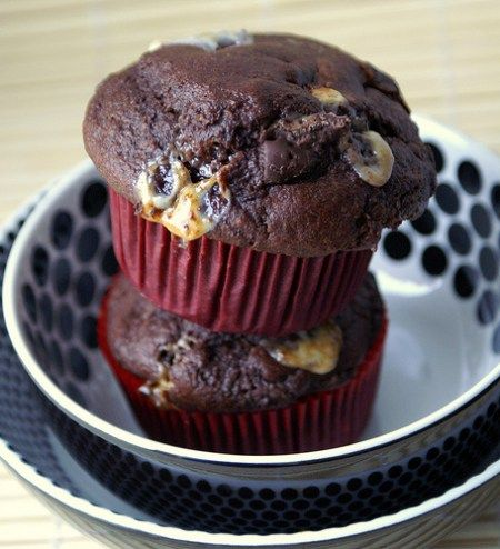 Mäusespeck Muffins (Marshmallow Muffins)