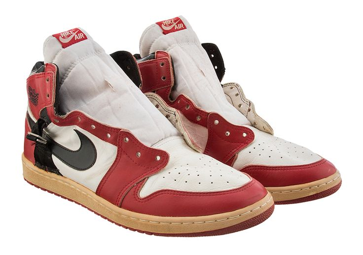 An Extremely Rare Modified Air Jordan 1 Worn by Michael Jordan is Up for Auction