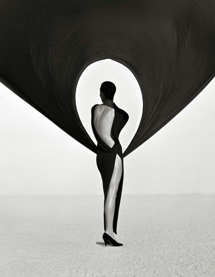 Versace Dress Back View, El Mirage 1990