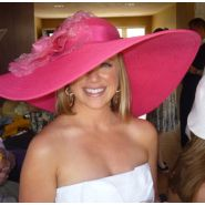 Derby Hats...perfect for the Oaks Pink.... Out!