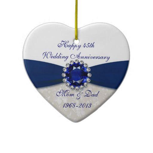 Sapphire Wedding Anniversary Gift Ideas For Parents : 40th wedding anniversary anniversary ideas anniversary dinner sapphire ...