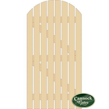 Stunning Dorset Wooden Side Gate from Cannock Gates