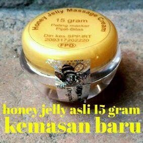 Mau Cantik ga usah pake ribet n mahal, Honey Jelly solusinya. Jeraewat ngacir, komedo minggir, Bikin bersih, kenyal, lembab, glowing, warna klit merata, lbh cerah merona, bahan herbal, ga ada effec samping, aman u/ bumil+menyusui. Sdh ada depkesnya lho... First Hand dari produsenya lgsg. jd di jamin ORIGNAL/ASLI 1000% Ready kemasan lama+Baru