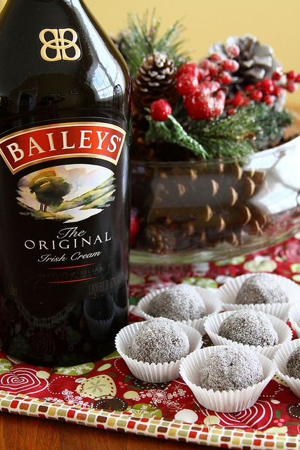 Bailey Balls - Sugarcrafter  These sound good, but the bourbon balls are the ones I am going to make.  YUMMO!!!