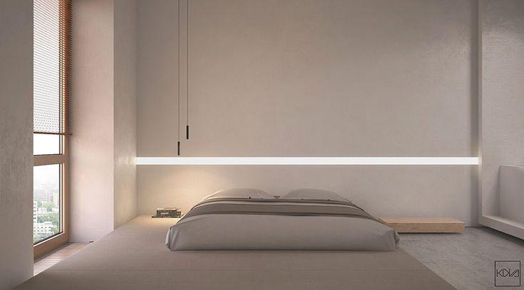 Camera da letto minimal 23