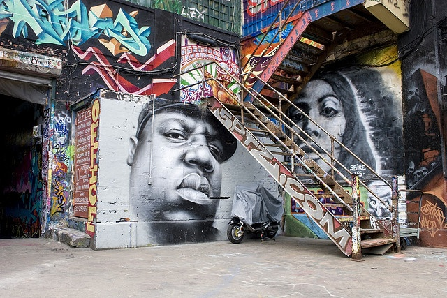 The RIP wall at 5 Pointz in Queens, New York. This is all being torn down for luxury condos. :(