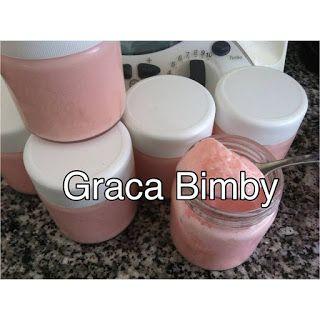 Bimby Truques & Dicas: Iogurtes sólidos aroma morango