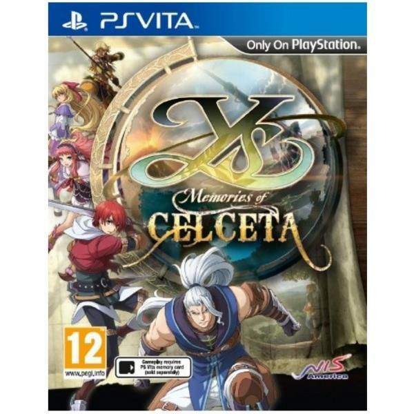 Ys Memories Of Celceta Game PS Vita | http://gamesactions.com shares #new #latest #videogames #games for #pc #psp #ps3 #wii #xbox #nintendo #3ds