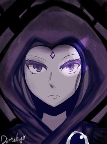 Raven Teen Titans by Datteibayo on deviantART