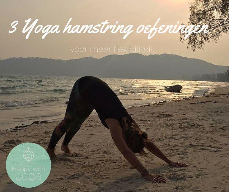 Veel mensen hebben korte hamstrings. Dit beperkt je mobiliteit en kan voor klachten zorgen. Deze Yoga hamstring oefeningen helpen je flexibiliteit vergroten.
