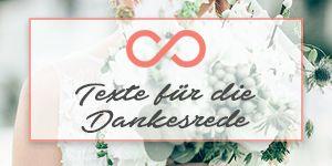 Kostenloser Download für die Hochzeit: Texte für die Dankesrede